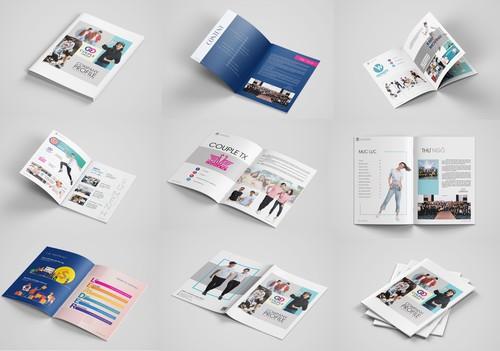 Thiết kế profile - Công ty Đầu tư Everest